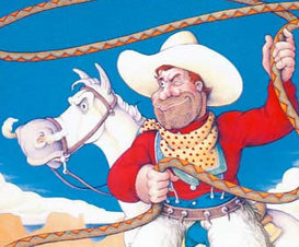 Pecos Bill - A Legend of Frontier Spirit - Legends of America